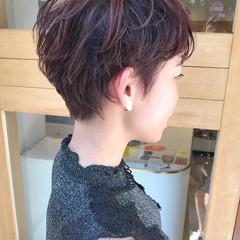 かっこいい 透明感 外国人風 パーマ ヘアスタイルや髪型の写真・画像