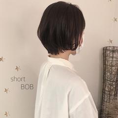 ショートヘア ショートボブ 大人可愛い ショート ヘアスタイルや髪型の写真・画像