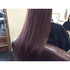 ストリート ラベンダーピンク ヌーディーベージュ ピンク ヘアスタイルや髪型の写真・画像