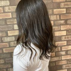 艶髪 透明感 ナチュラル イルミナカラー ヘアスタイルや髪型の写真・画像