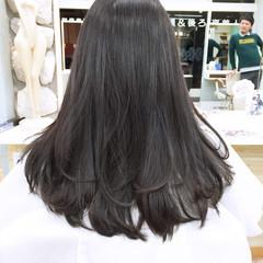 ストリート 外国人風 大人かわいい ロング ヘアスタイルや髪型の写真・画像