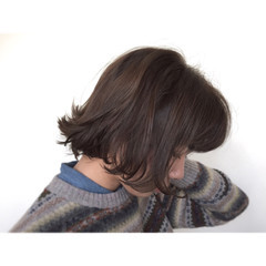 大人かわいい 外国人風 暗髪 ゆるふわ ヘアスタイルや髪型の写真・画像