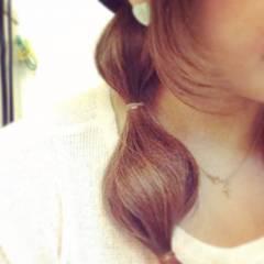 ナチュラル ヘアアレンジ ストリート ガーリー ヘアスタイルや髪型の写真・画像