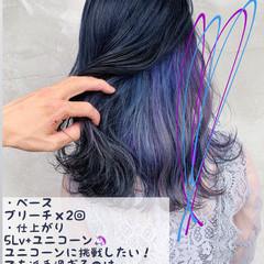 ブリーチカラー ブリーチ ナチュラル ヘアアレンジ ヘアスタイルや髪型の写真・画像