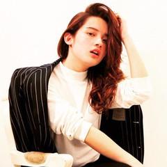 ブラウン 外国人風 大人かわいい グラデーションカラー ヘアスタイルや髪型の写真・画像