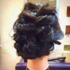 パーティ 大人女子 ショート セミロング ヘアスタイルや髪型の写真・画像