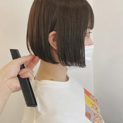 ショートボブ ショート ミルクティーベージュ パーマ ヘアスタイルや髪型の写真・画像