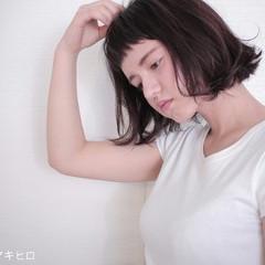 黒髪 大人かわいい ストリート 外国人風 ヘアスタイルや髪型の写真・画像