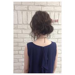 外国人風 夏 ミディアム パーティ ヘアスタイルや髪型の写真・画像