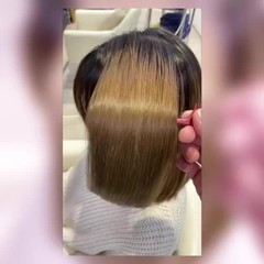 髪質改善トリートメント セミロング フェミニン トリートメント ヘアスタイルや髪型の写真・画像