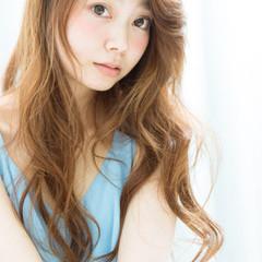 フェミニン コンサバ 艶髪 ロング ヘアスタイルや髪型の写真・画像
