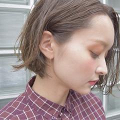 ヘアアレンジ ハイライト 色気 大人女子 ヘアスタイルや髪型の写真・画像