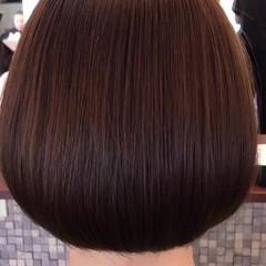 タンバルモリ ナチュラル 縮毛矯正 ボブ ヘアスタイルや髪型の写真・画像