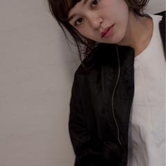 大人女子 小顔 渋谷系 アッシュ ヘアスタイルや髪型の写真・画像