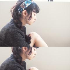 ヘアアレンジ ガーリー ショート 簡単ヘアアレンジ ヘアスタイルや髪型の写真・画像