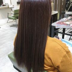 ラベンダーアッシュ ロング ラベンダーピンク トリートメント ヘアスタイルや髪型の写真・画像