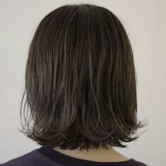 色気 ウェットヘア ネイビー モード ヘアスタイルや髪型の写真・画像