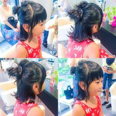 夏 色気 涼しげ 簡単ヘアアレンジ ヘアスタイルや髪型の写真・画像