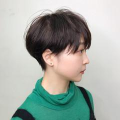 ショート 小顔ショート ショートカット ショートヘア ヘアスタイルや髪型の写真・画像
