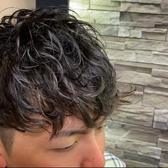ショート メンズスタイル メンズパーマ ストリート ヘアスタイルや髪型の写真・画像