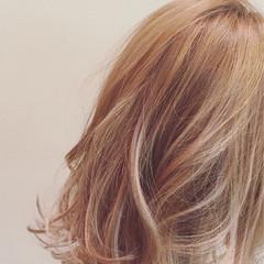 渋谷系 フェミニン ミディアム ストリート ヘアスタイルや髪型の写真・画像