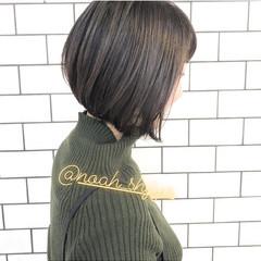 デート アンニュイほつれヘア 大人カジュアル ボブ ヘアスタイルや髪型の写真・画像