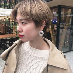 ナチュラル ショート ショートヘア 東京ヘアスタイル ヘアスタイルや髪型の写真・画像