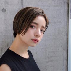 セクシー かっこいい ボブ オフィス ヘアスタイルや髪型の写真・画像