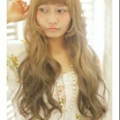 ラフ ナチュラル グラデーションカラー フェミニン ヘアスタイルや髪型の写真・画像
