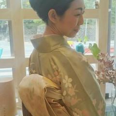 透明感 フェミニン ヘアアレンジ おフェロ ヘアスタイルや髪型の写真・画像