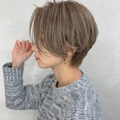 ショートヘア ナチュラル ふんわり ショート ヘアスタイルや髪型の写真・画像