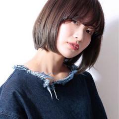 ワンカール グラデーションカラー ピュア 黒髪 ヘアスタイルや髪型の写真・画像