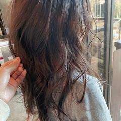セミロング ヌーディベージュ 大人かわいい 大人女子 ヘアスタイルや髪型の写真・画像