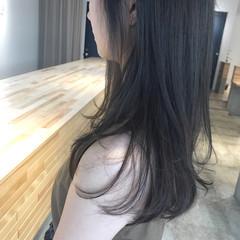 女子力 ロング ナチュラル アウトドア ヘアスタイルや髪型の写真・画像