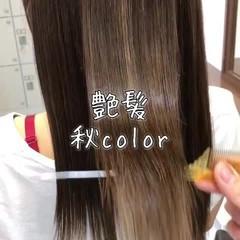 セミロング エレガント 外国人風カラー 簡単ヘアアレンジ ヘアスタイルや髪型の写真・画像