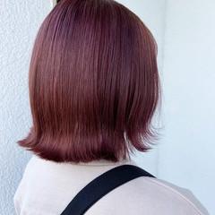 ボブ ブリーチ必須 きれいめ 圧倒的透明感 ヘアスタイルや髪型の写真・画像