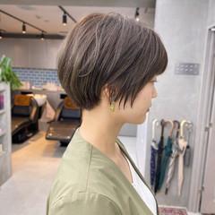 ベリーショート 小顔ショート ショートヘア ショート ヘアスタイルや髪型の写真・画像