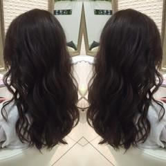 ロング 大人かわいい 春 パーマ ヘアスタイルや髪型の写真・画像
