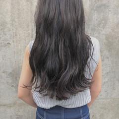 表参道 グレージュ ロング 外国人風カラー ヘアスタイルや髪型の写真・画像