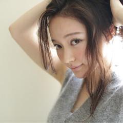 外国人風 ナチュラル 大人かわいい ヘアアレンジ ヘアスタイルや髪型の写真・画像