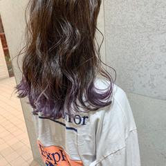 ミディアム 外国人風 アンニュイほつれヘア ナチュラル ヘアスタイルや髪型の写真・画像
