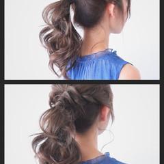 夏 ヘアアレンジ 簡単ヘアアレンジ 色気 ヘアスタイルや髪型の写真・画像