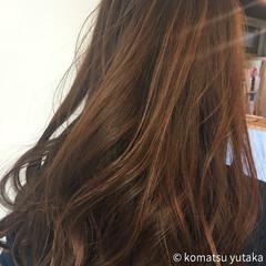 グラデーションカラー ナチュラル 大人かわいい セミロング ヘアスタイルや髪型の写真・画像