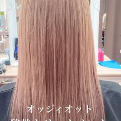 セミロング ナチュラル 髪質改善 髪質改善トリートメント ヘアスタイルや髪型の写真・画像