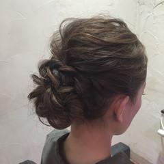 フェミニン ヘアアレンジ コンサバ ゆるふわ ヘアスタイルや髪型の写真・画像