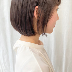 ベリーショート ショートヘア ミニボブ ナチュラル ヘアスタイルや髪型の写真・画像