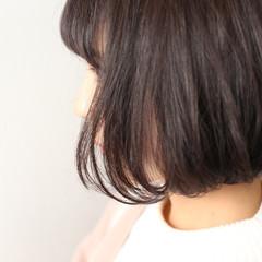 グレージュ ナチュラル 外国人風カラー ボブ ヘアスタイルや髪型の写真・画像