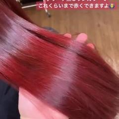 ロング デート 簡単ヘアアレンジ ガーリー ヘアスタイルや髪型の写真・画像