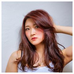 パーマ ハイライト ストリート 外国人風 ヘアスタイルや髪型の写真・画像