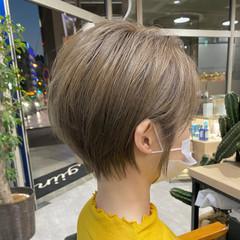 ショートボブ ショートヘア 小顔ショート 大人ショート ヘアスタイルや髪型の写真・画像